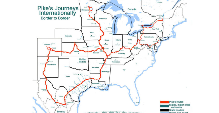 Designation of Pike Trail in States & Federally