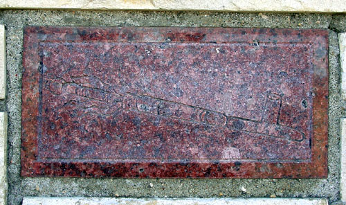 Close-Up Detail - Peace Pipe Plaque