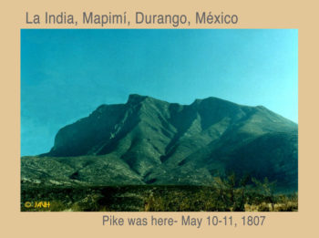 La India, Mapimí, Durango, México