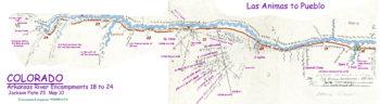 Map 10 (Field 25)- Las Animas to Pueblo (Jackson Plate 25)