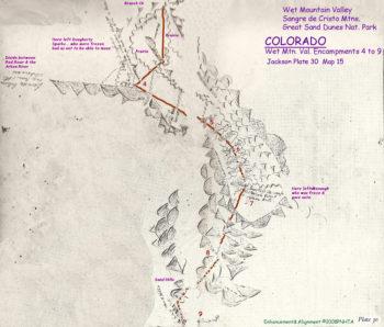 Map 15 (Field 30)- Grape Creek & Wet Mountain Valley (Jackson Plate 30)