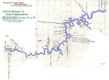 Map 3 (Field 18)- Central Missouri on the Osage River (Jackson Plate 18)