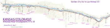 Map 9 (Field 24)- Garden City KS to Las Animas CO on the Arkansas River (Jackson Plate 24)
