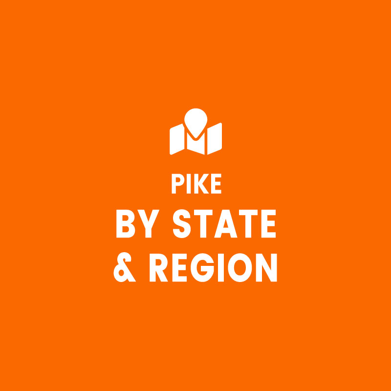 Pike by State / Region
