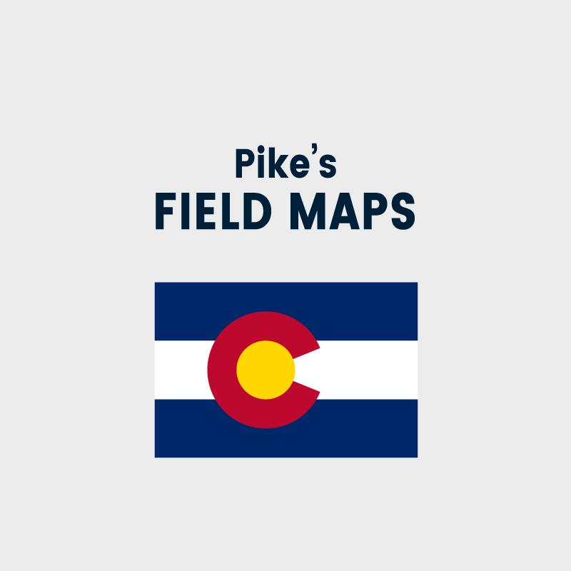 Pike's Field Maps - Colorado