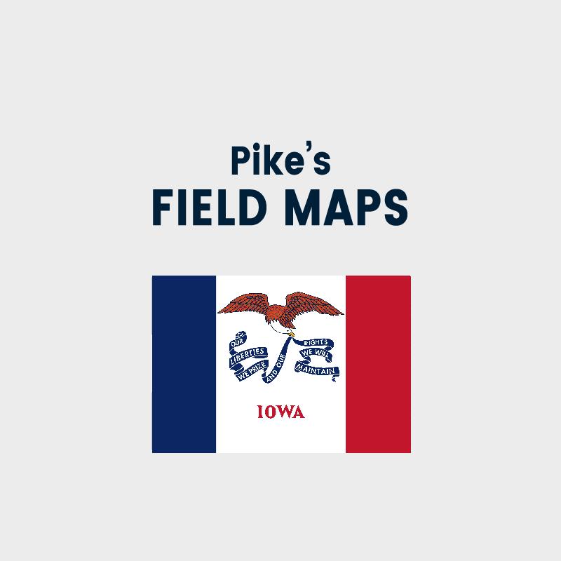Pike's Field Maps - Iowa