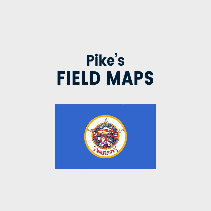 Pike's Field Maps - Minnesota