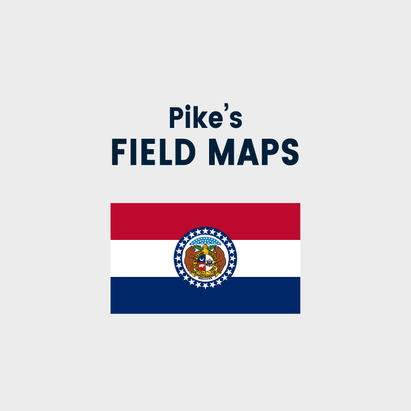 Pike's Field Maps - Missouri