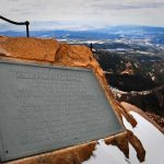 Pikes Peak Summit Plaque
