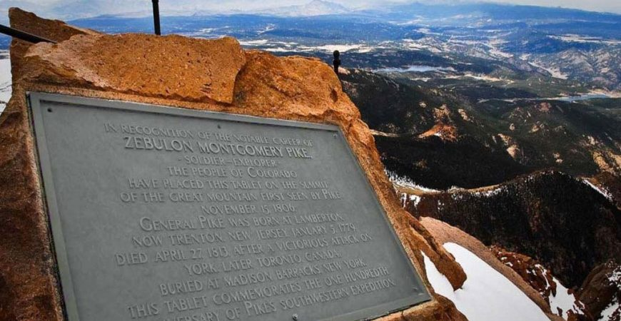 Pikes Peak Summit Plaque