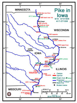 Pike in Iowa (1st Expedition)