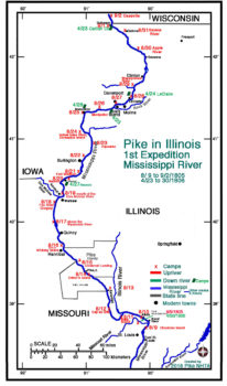 Pike's 1st Expedition – IL