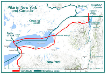 Pike in New York and Canada
