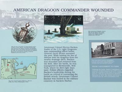 American Dragoon Commander Fort Pike