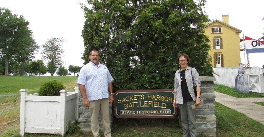 Sackets Harbor Battlefield Historical Site