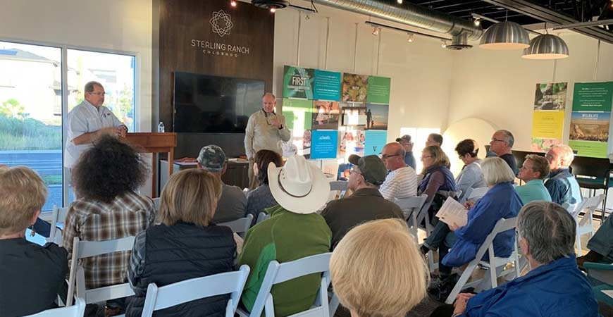 Pike's Peak Presentation by Brian and Cliff Pike, at Sterling Ranch, Littleton, CO